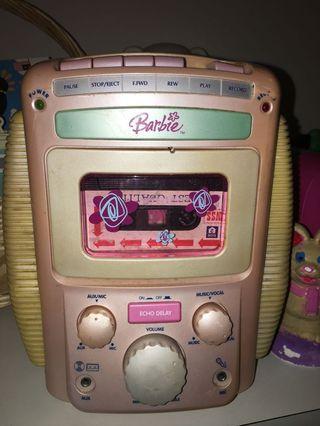 Radio barbie cassette