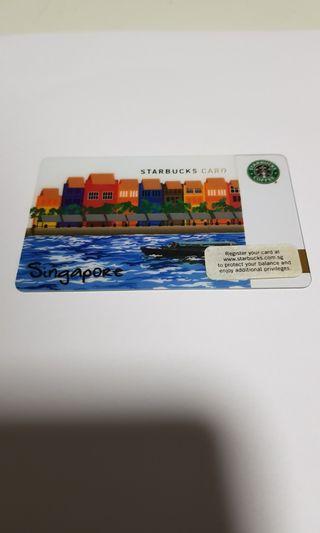 Starbucks Singapore River 1st Edition Card