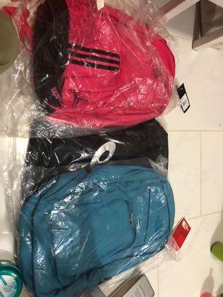 Bagpack clearance Adidas bag northface bag asic duffle bag