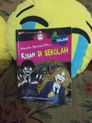KISAH DI SEKOLAH....buku cerita hantu