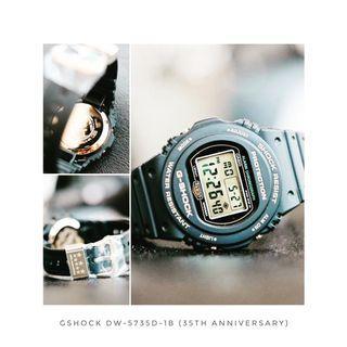 CASIO dw5735d-1b 35th anniversary limited