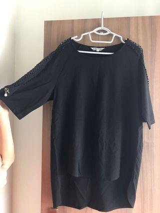 Long black top