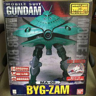 Bandai 日版 全新 MIA (Mobile Suit In Action) M.I.A. MA-08 BYG-ZAM 魔霸 連核戰機 超巨大全高350mm