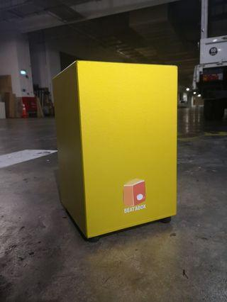 🚚 GOLD edition Branded Cajon
