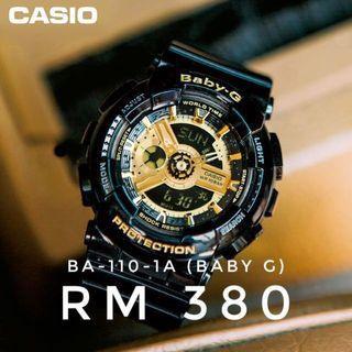 CASIO baby g ba-110-1a watch