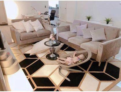 Carpet tatami luxury design