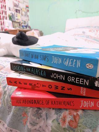 Novel Set ( John Green 4 books set )