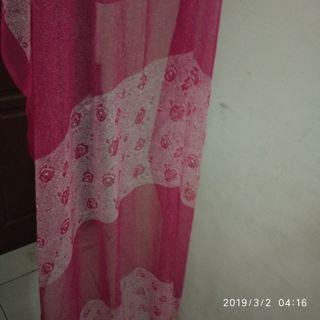 Pashmina Pink motif