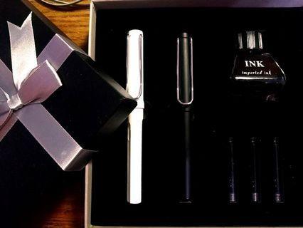 🚚 質感鋼筆套組 可加購墨水管墨水