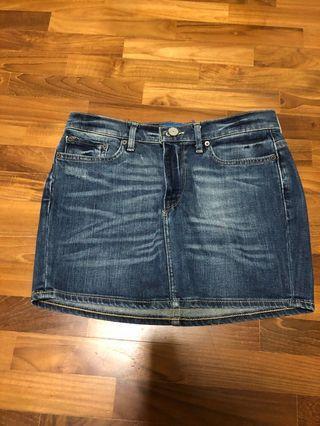 🚚 ADDIDAS ORIGINALS denim skirt size28