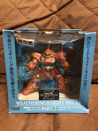 全新 日版 Banpresto 眼鏡廠 2005 Mobile Suit Gundam Z 機動戰士 高達 RMS-108 Marasai 姆力沙  Weathering & Light 著燈 Figure 景品