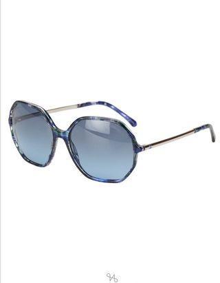 Chanel Polarized Sunglasses Blue Marble