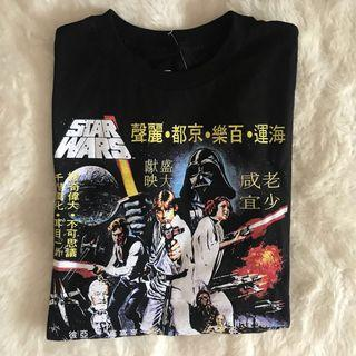 🚚 brandy melville star wars oversized tshirt
