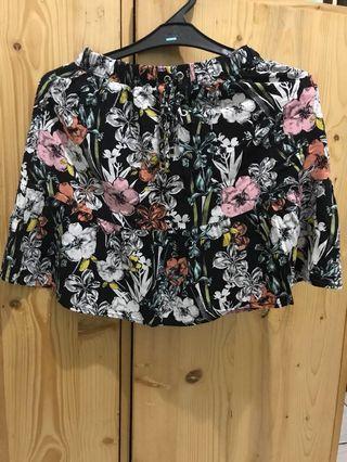 Flower Skirt / Rok Stradivarius Size S #mauTHR