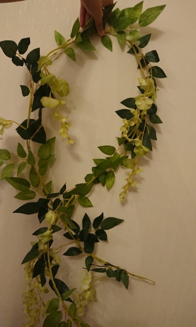 1.5米 假花草藤 1.5M Fake flower garland