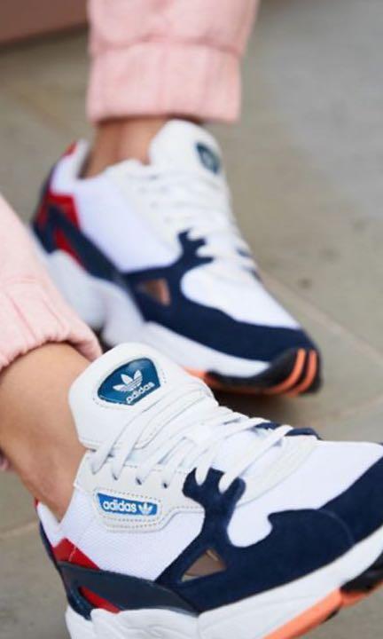 Adidas Originals Women Falcon Navy/White BRAND NEW