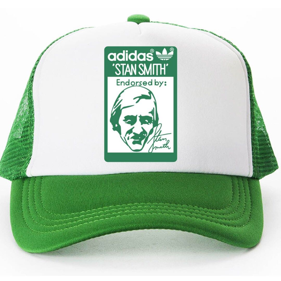 04bb4f3e2 Adidas Stan Smith Trucker Cap