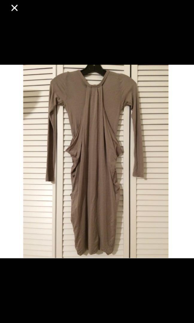 Aritzia Wilfred Jersey Dress - Size XS
