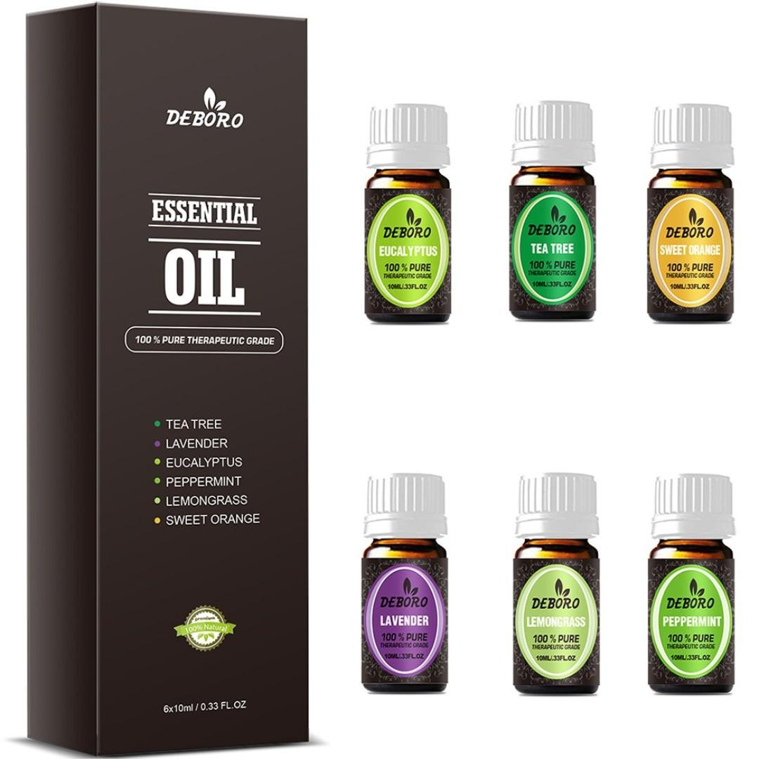 Aromatherapy Essential Oils - DEBORO 100% Pure Therapeutic Grade