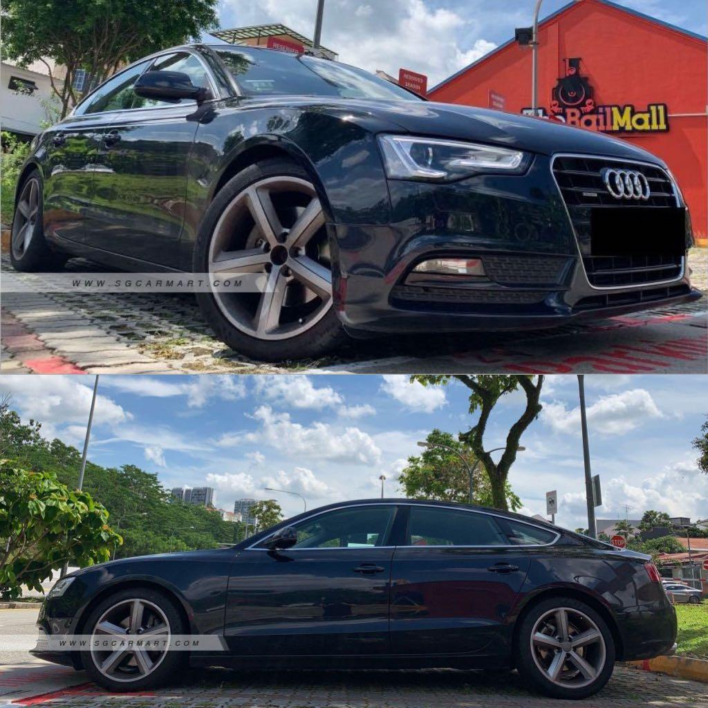 Audi A5 Sportback 2.0 Turbo for lease