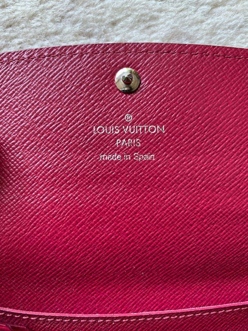 Authentic Louis Vuitton Emilie Wallet in Epi Leather