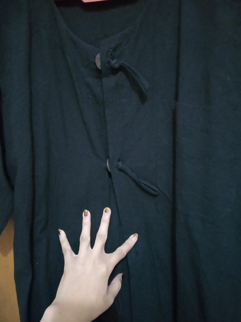 Baju koko hitam size S