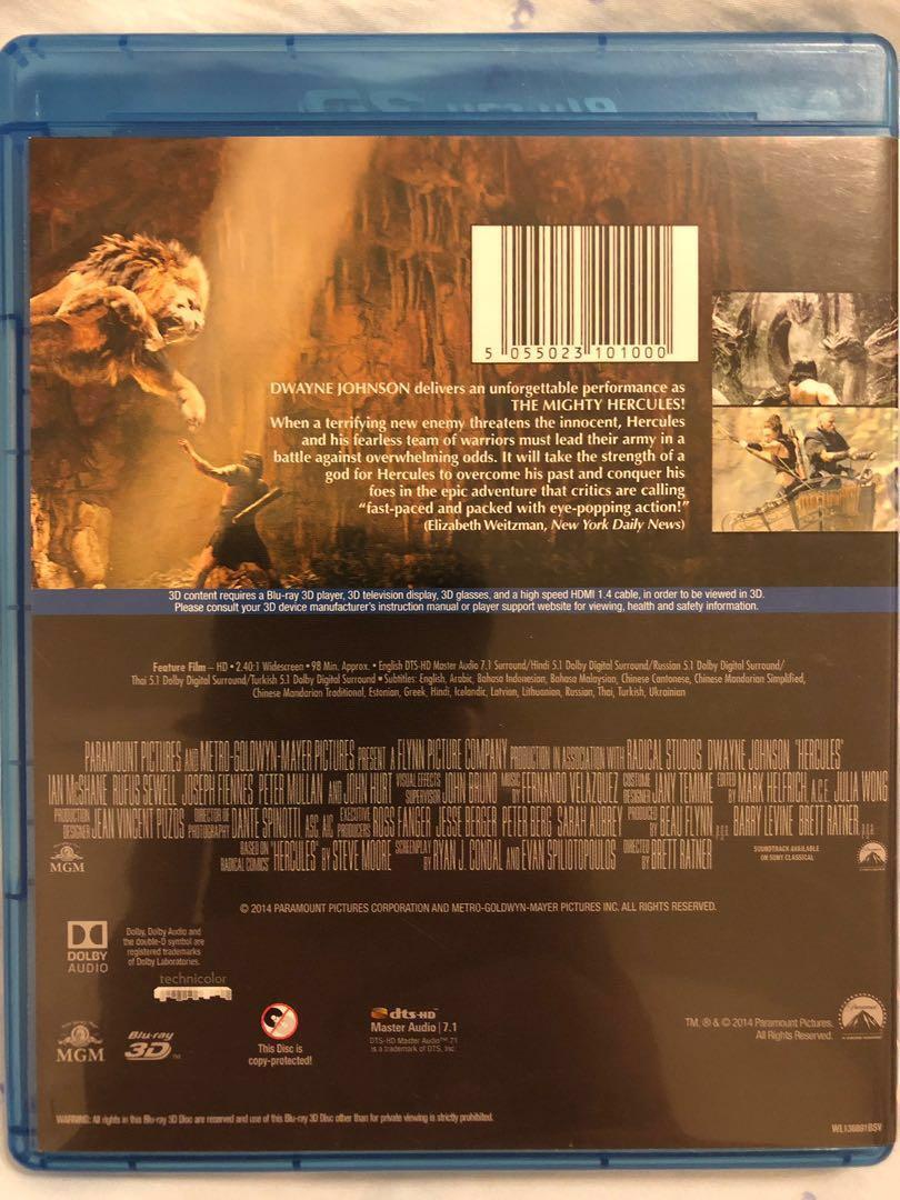 BD:戰神 海格力斯3D Hercules 3D 電影