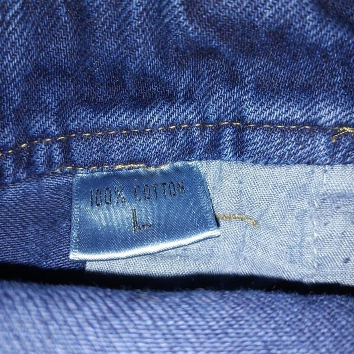 Celana kodok, jumpsuit jeans denim