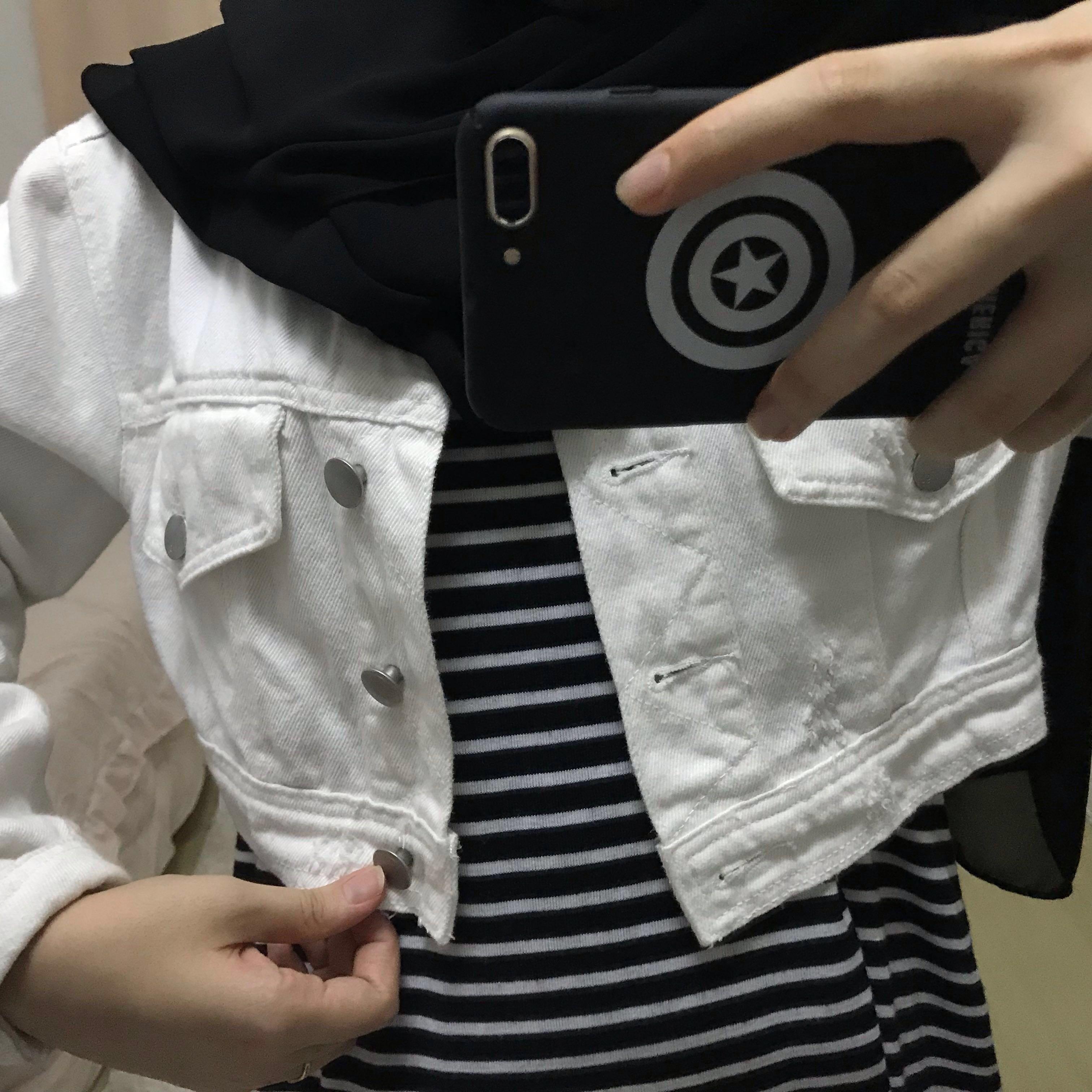 Cotton On Crop Jeans Jacket