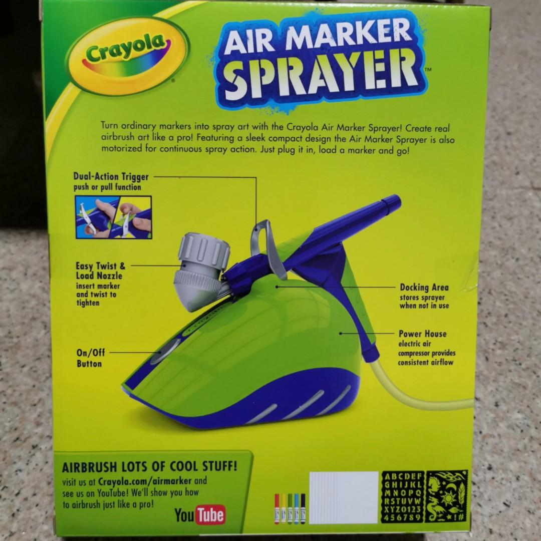 Crayola Air Marker Sprayer Toys Games Others On Carousell