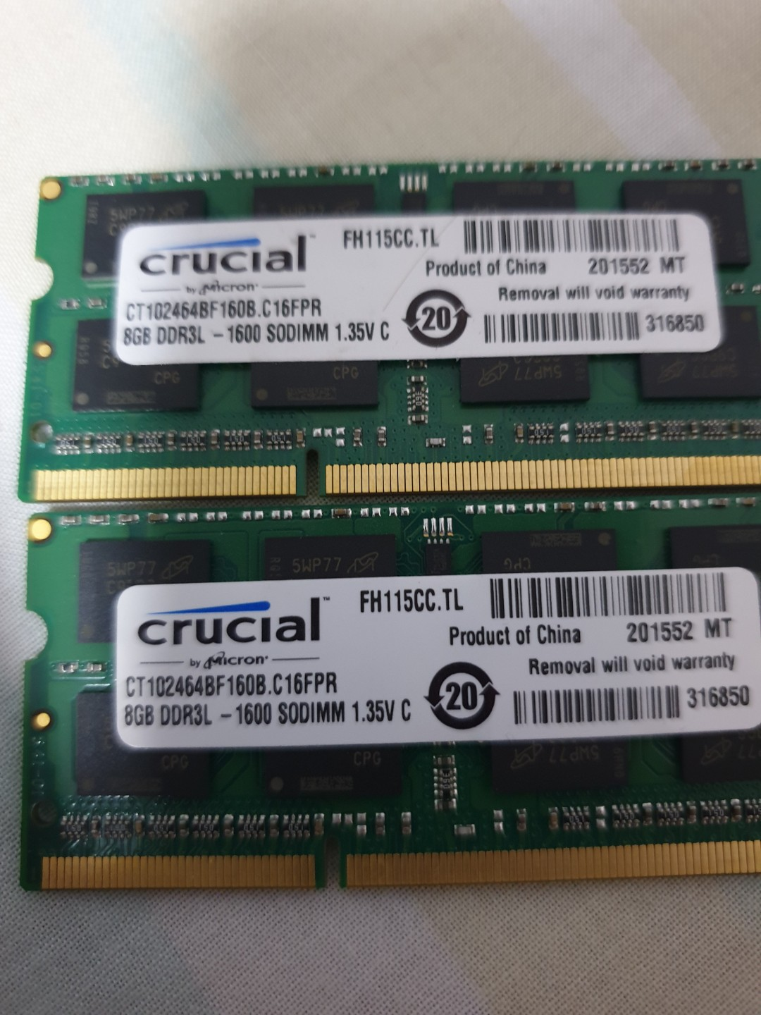 DDR3 8GB ram for laptop