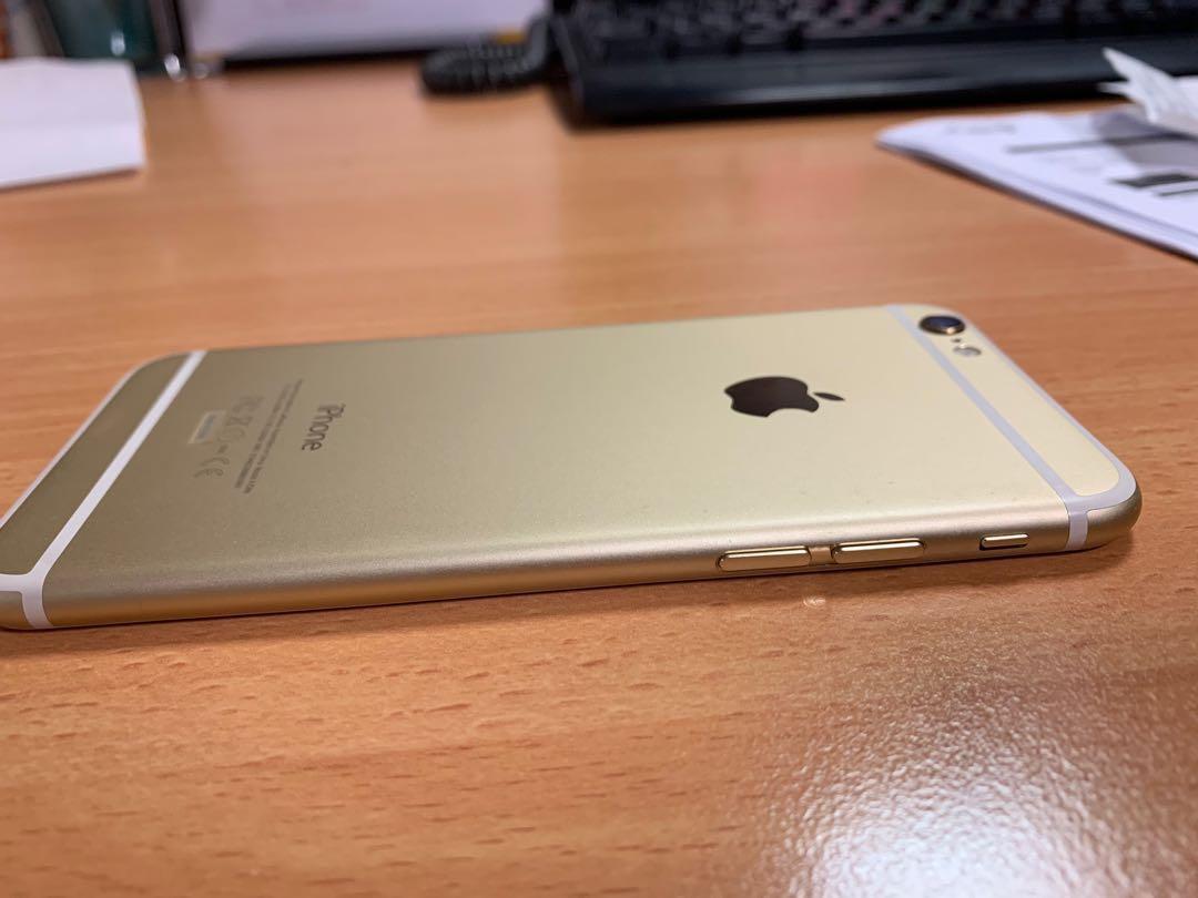 Dijual Iphone 6 Gold 32gb Ex garansi Erafone muluss!!