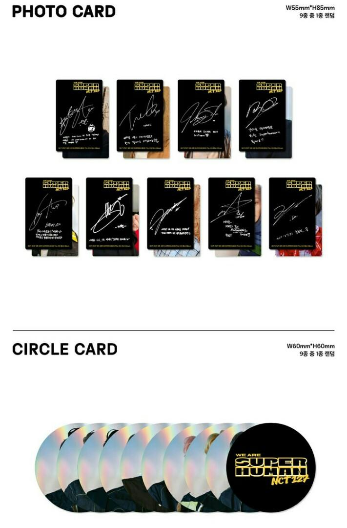 [DIRECT ORDER] NCT127 - We Are Superhuman album + poster