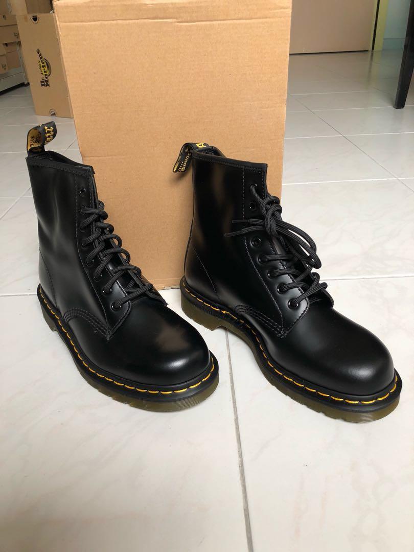 afe13720 Dr martens-1460 black smooth -Uk 7 -Eu41, Men's Fashion, Footwear ...