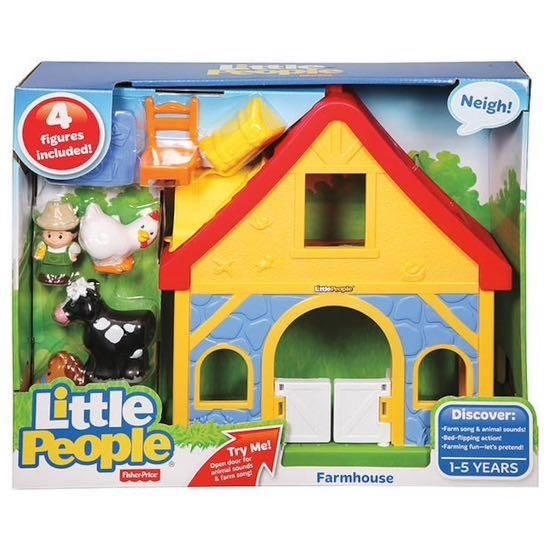 Fisher Price Little People Farm House Toys Games Others On Carousell