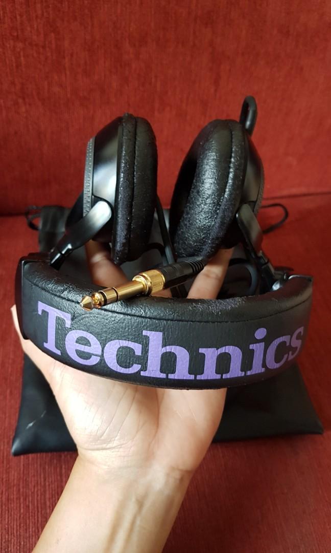 HEADPHONE TECHNICS RP-1200DJ