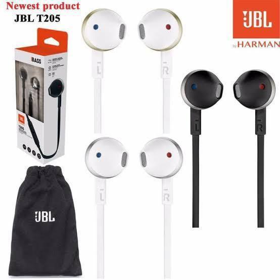 Headset JBL earphone T205