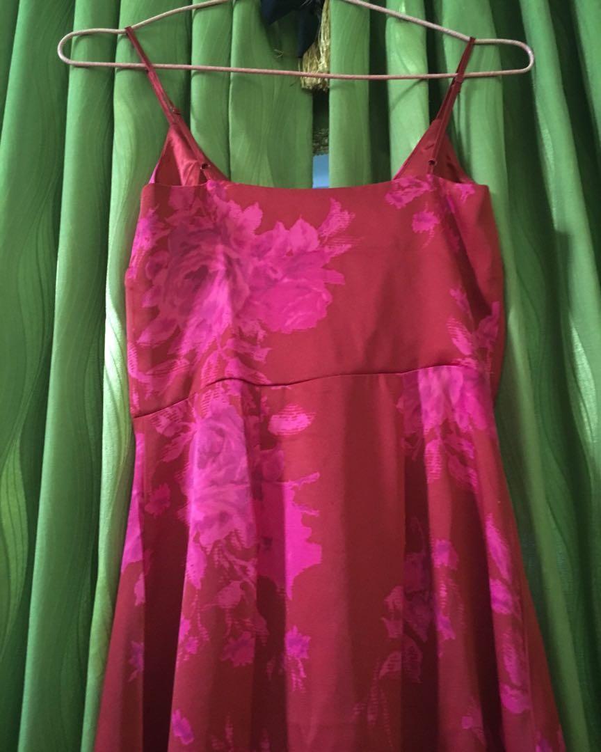 H&M Satin Dress #mauthr