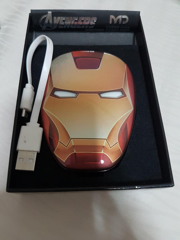 Iron Man Powerbank 12000 mAh