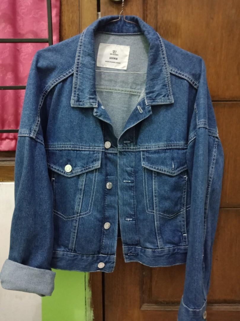 Jaket Jeans h&m (oversized)