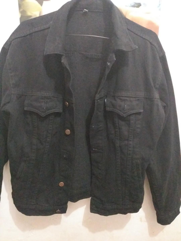 Jaket Jeans Wrangler Black Original