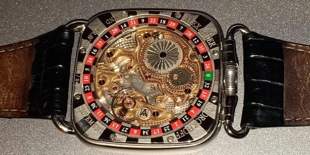 Jam tangan ALEXANDER SHOROKHOFF original 100%
