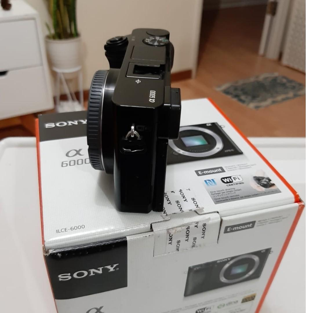 Kamera Sony alpha 6000 - mirrorless