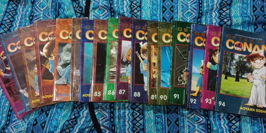 Komik Conan eps 78-94