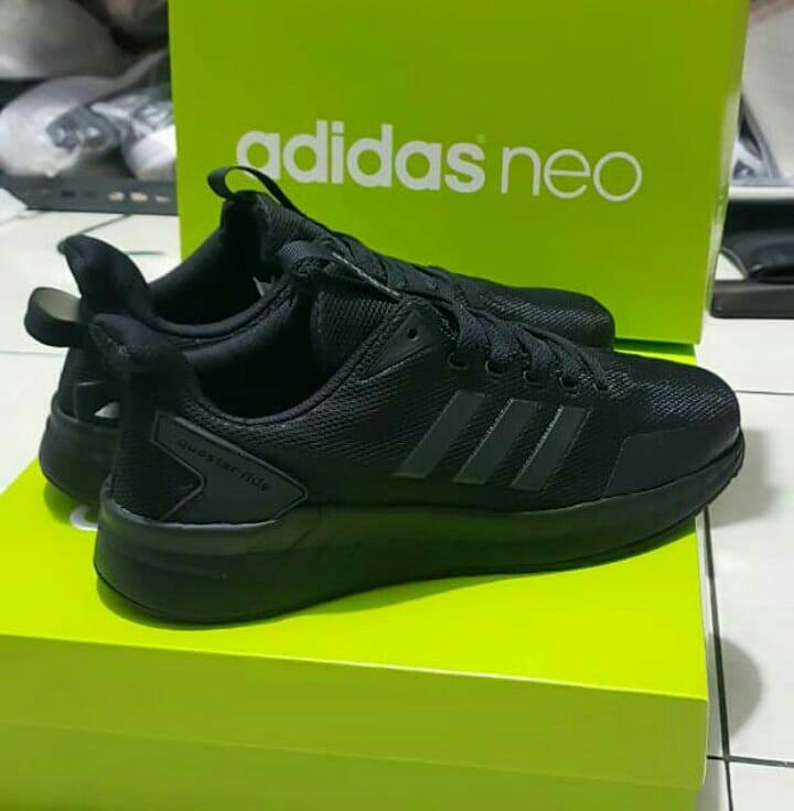 #mauthr adidas questar ride full black