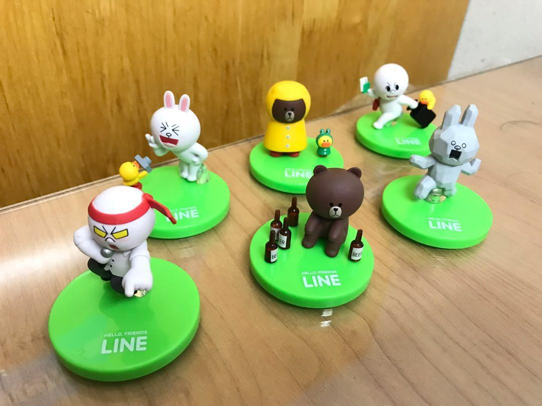 LINE friends figure (version 2)