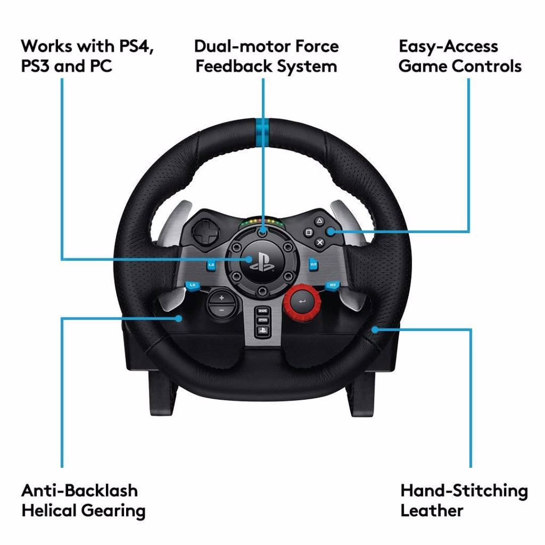 Logitech G29 Racing Wheel (PS4/PS3/PC)