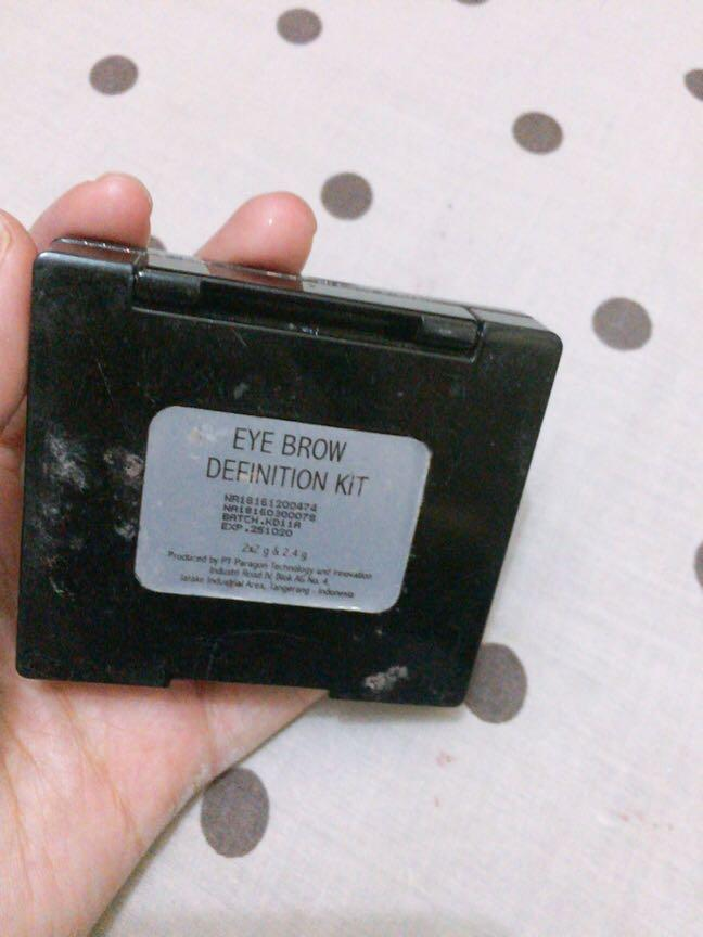 Make over eyebrow