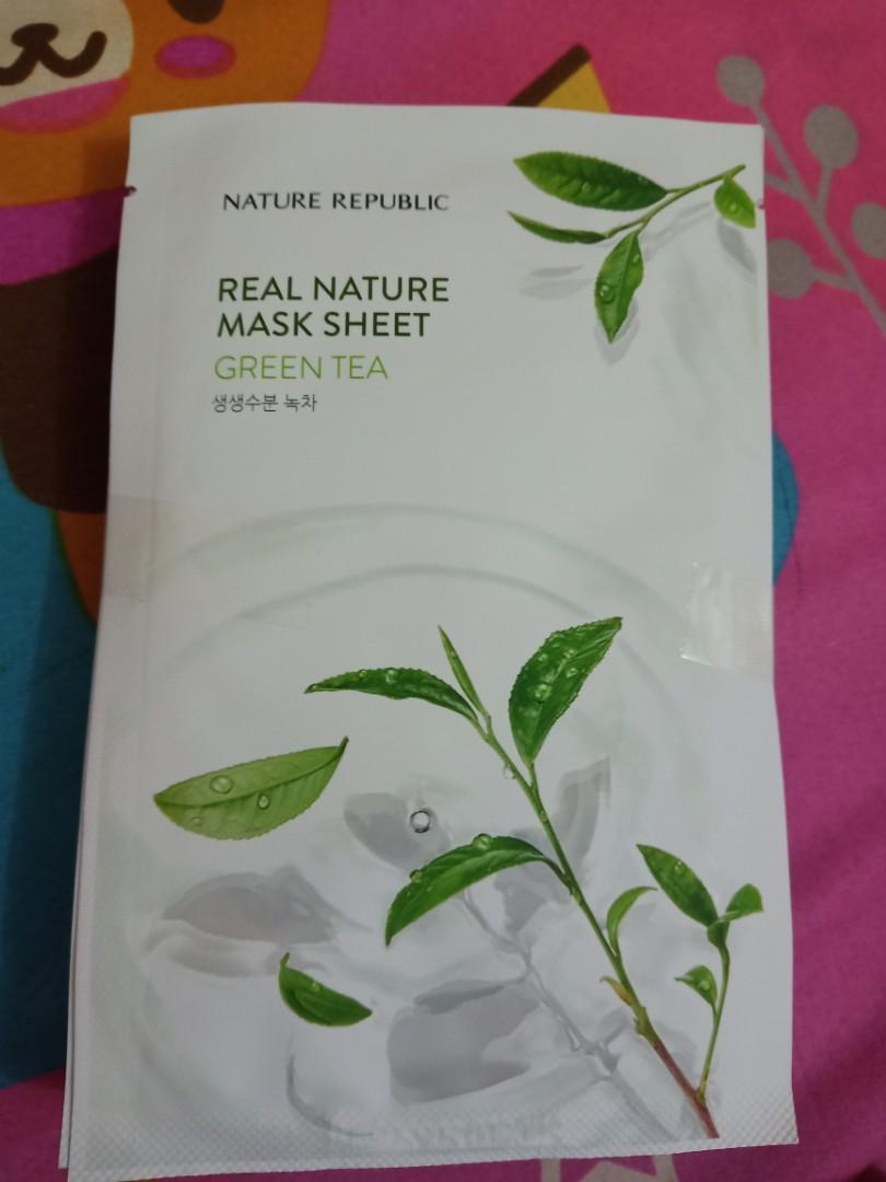Masker original Nature Republic asli korea(Jeju)