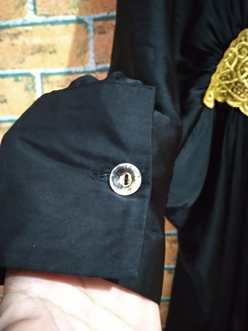 #mauthr Kaftan midi hitam